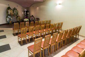 wnętrze kaplicy pogrzebowej ul raginisa