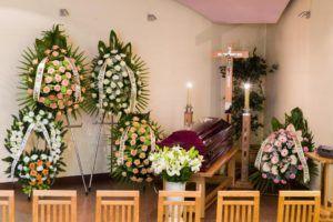 wnętrze dom pogrzebowy
